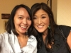 Me and Nightline co-anchor Juju Chang
