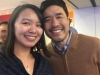 Me and Actor Randall Park