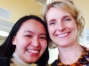Selfie with Elizabeth Gilbert, author of Eat Pray Love.